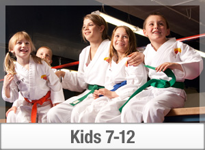 Karate Kids having fun