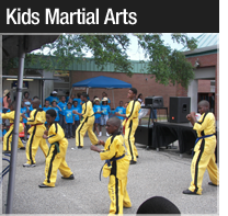 kid martial arts class in new orleans